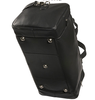 ROYCE Sports Travel Duffel Bag in Genuine Leather~654-BLACK-F