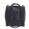 ROYCE Toiletry Cosmetic Travel Wash Bag in Genuine Leather~263-BLACK-6