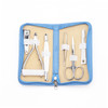ROYCE Travel and Grooming Manicure Kit in Genuine Leather with Stainless Steel Implements~551-6