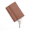 ROYCE Trifold Key Case Organizer Wallet in Genuine Leather~612-5