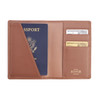 RFID Blocking Leather Passport Wallet~RFID-209-5