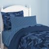 Geo Camo Bed-in-a-Bag~Blue*2D71900