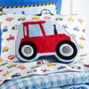Trains and Trucks Tractor Decorative Pillow~2A71990YMU