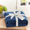 Garment Washed Microfiber Sheet Set~Navy*2A8653S