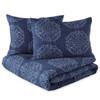 Painted Medallion Microsculpt Comforter Set~2A8647C
