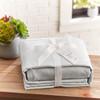 Garment Washed Microfiber Sheet Set~Platinum*2A8653S
