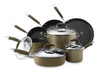 Anolon Advanced Bronze Hard-Anodized Nonstick 11-Piece Cookware Set~82693