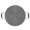 Anolon Advanced Bronze Hard-Anodized Nonstick 5.5-Quart Covered Braiser with Rack~83490