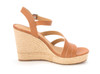 Lucky Brand Womens Latif Leather Open Toe Casual Ankle Strap Sandals~pp-715e26e1