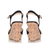 Nine West Womens big easy Leather Open Toe Casual Mule Sandals~pp-fe9be759