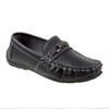 Boys' Loafer with Metal Accent~Black*O-19119B