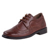 13-6 Boys' Lace-Up Dress Shoes~Choco Brown*O-31801C