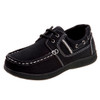 6-11 Boys' Casual Lace-Up Boat Shoes~Black*O-8600C