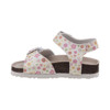 Laura Ashley Buckle Sandals for Toddler Girls~White*O-LA81247S