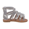 Toddler Girls' Gladiator Sandals~Silver Shimmer*O-LA81645O