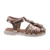Laura Ashley Flower Fisherman Sandals for Toddler Girls~Champagne*O-LA82001C