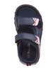 Youth Rugged Bear Boys' Active Sandals~Navy Denim Red*O-RB81484M