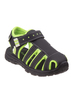 Youth Rugged Bear Boys' Active Sandals~Black Green*O-RB82087M