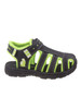Toddler Rugged Bear Boys' Active Sandals~Black Green*O-RB82087N
