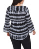 Plus Size Long Sleeve High-Low Top~Black Ultratidy*WDOU1657