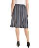 Elastic Waistband Godet Skirt~Blue Shaline*MITK0834