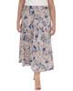 Plus Size Elastic Waistband Maxi Skirt~Navy Pasline*WITK0817