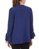 Tie Sleeve Open Drape Front Jacket~Nitecap*XCRJ0087