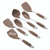 Anolon SureGrip Nylon Nonstick 6-Piece Utensil Set - Bronze~46346