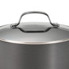 Circulon Genesis Hard-Anodized Nonstick 12-inch Covered Deep Skillet~83599