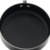 Farberware Millennium Colors Nonstick Aluminum 12-Piece Cookware Set - Black~10569