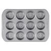 Farberware Nonstick 12-Cup Muffin Pan - Gray~52106