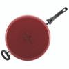 Paula Deen Riverbend Aluminum Nonstick 5-Quart Covered Jumbo Cooker with Helper Handle - Red Speckle~16995