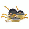 Paula Deen Signature Collection Porcelain Nonstick 15-Piece Cookware Set - Butter Speckle~12514