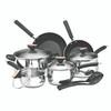 Paula Deen Signature Stainless Steel 12-Piece Cookware Set~76362