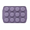 Paula Deen Speckle Nonstick 12-Cup Muffin and Cupcake Pan - Lavender Speckle~46254