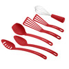Rachael Ray Tools and Gadgets Nylon Nonstick 6-Piece Tools Set - Red~46408