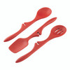 Rachael Ray Tools and Gadgets Silicone Lazy Tools 3-Piece Set - Red~46410