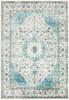Aberdine Vintage Aubusson Aqua Blue Rug~ABE8004