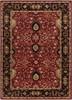 Caesar Classic Agra Hand Tufted Burgundy Wool Rug~CAE1031