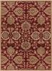 Caesar Classic Hand Tufted Burgundy Wool Rug~CAE1061