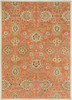 Caesar Classic Hand Tufted Burnt Orange Wool Rug~CAE1107