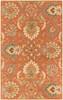 Caesar Modern Classic Hand Tufted Burnt Orange Wool Rug~CAE1112