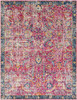 Harput Antique Vintage Garnet Red and Blue Rug~HAP1013