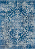 Harput Antique Vintage Dark Blue and Gray Rug~HAP1022