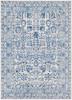 Harput Antique Vintage Dark Blue and Gray Rug~HAP1030