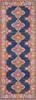 Harput Triple Medallion Dark Blue Rug~HAP1037