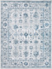 Nova Vintage Denim Blue and Ivory Rug~NVA3024