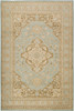 Paramount Center Medallion Sage Green Rug~PAR1006