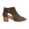 Ivy Sahara Soft Leather Sandal - Wide~Dark Olive*602726WWBCK