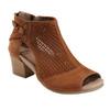 Ivy Sahara Soft Leather Sandal - Wide~Sand Brown*602726WWBCK